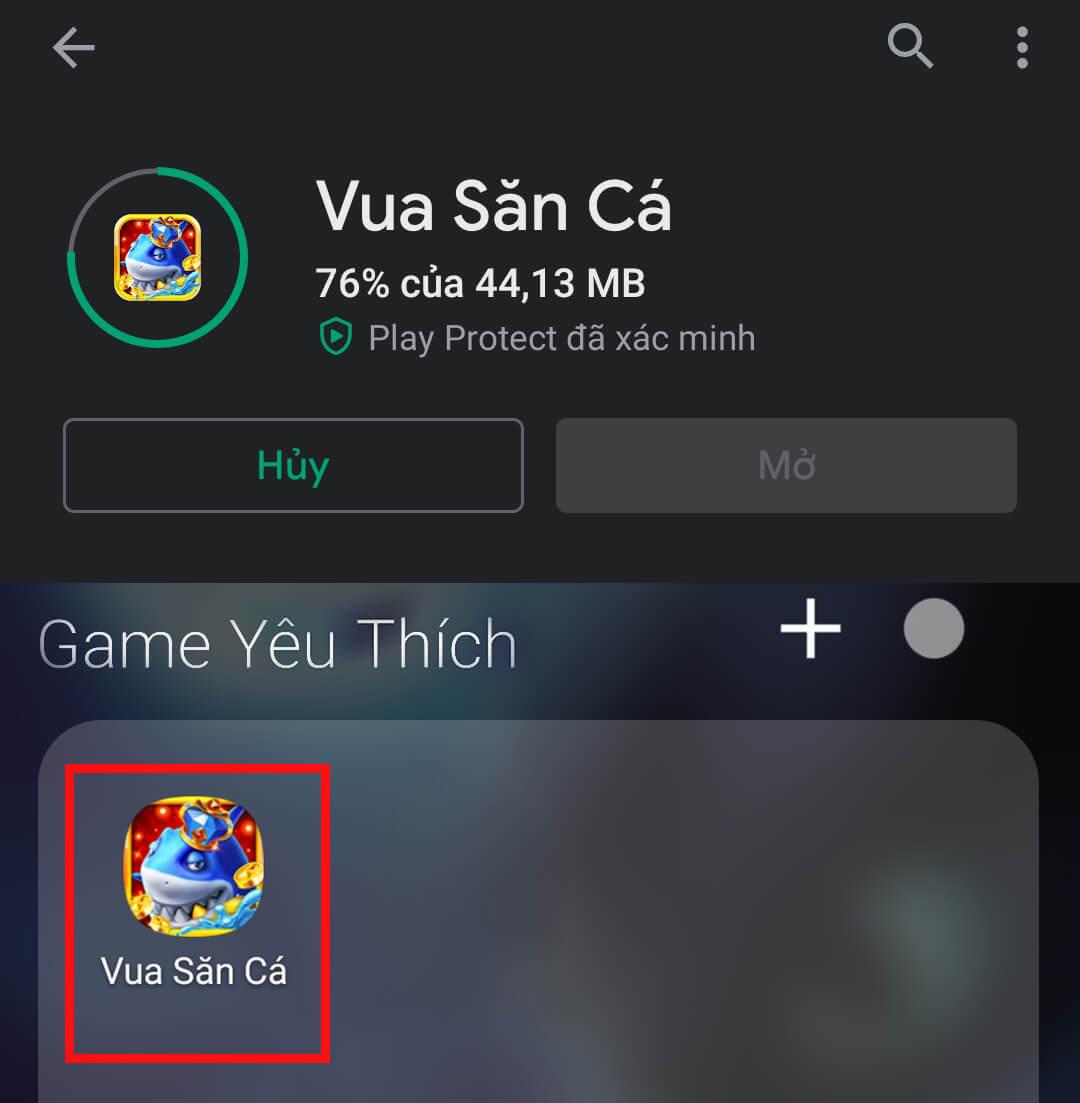 Tải trò chơi Vua săn cá trên Android 04